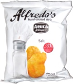 Alfredo's Hand-cooked Style Amica Chips Salt