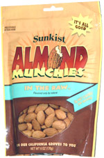 Sunkist Almond Munchies In the Raw
