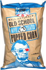 American Farmer All Natural Old School Movie Theater Popped Corn