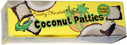 Creamy Chocolate Dipped Coconut Patties