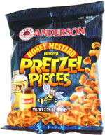 Anderson Honey Mustard Flavored Pretzel Pieces