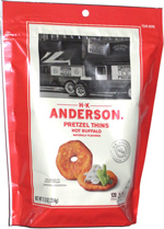 H.K. Anderson Pretzel Thins Hot Buffalo