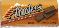 Andes Toffee Crunch Thins