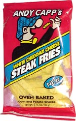 Andy Capp's White Cheddar Cheese Steak Fries