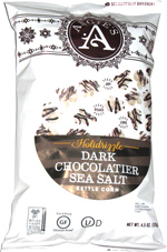 Angie's Holidrizzle Dark Chocaltier Sea Salt Kettle Corn