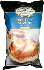 Archer Farms Thick-Cut Russet Potatoes Sea Salt Olive Oil Potato Chips