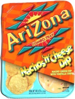 AriZona Combo Tray Nachos 'n' Cheese Dip