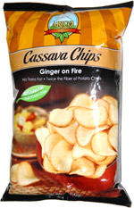 Arico Cassava Chips Ginger on Fire