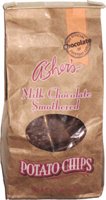Asher's Milk Chocolate Smothered Potato Chips