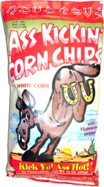 Ass Kickin' Corn Chips