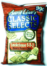 Aunt Lisa's Classic Selects Smokehouse B-B-Q Hearty Potato Chips