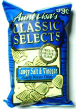 Aunt Lisa's Classic Selects Tangy Salt & Vinegar Hearty Potato Chips