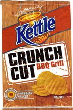Kettle Chips BBQ Grill Crunch Cut