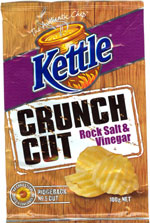 Kettle Crunch Cut Rock Salt and Vinegar