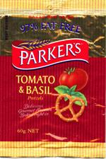 Parker's Tomato and Basil Pretzels