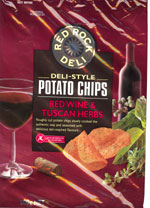 Red Rock Deli Red Wine & Tuscan Herbs Deli-Style Potato Chips