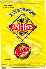 Smith's Potato Crisps Bega Strong & Bitey