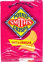 Smith's Potato Crisps Salt & Vinegar