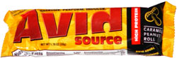 Avid Source High Protein Caramel Peanut Roll