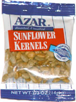 Azar Roasted, Unsalted Sunflower Kernels