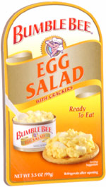 Bumble Bee Egg Salad with Crackers