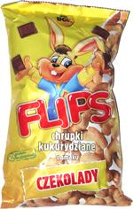 Flips Chrupki Kukurydziane o Smaku Czekolady