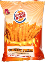 Burger King Cheesy Fries