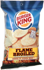 Burger King Flame Broiled Flavored Potato Snacks