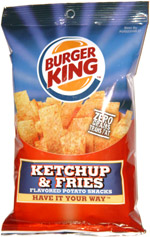 Burger King Ketchup & Fries