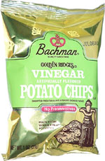 Bachman Golden Ridges Vinegar Potato Chips