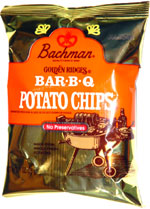 Bachman Golden Ridges Bar-B-Q Potato chips