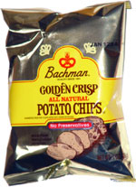 Bachman Golden Crisp All Natural Potato Chips
