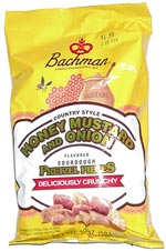 Bachman Country Style Honey Mustard and Onion Sourdough Pretzel Pieces