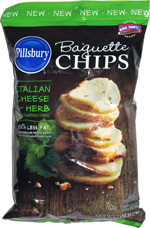 Pillsbury Baguette Chips Italian Cheese & Herb