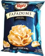 Baji's Papadums Creamy Yogurt & Dill