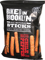 Baked in Brooklyn Sticks Roasted Chile Pepper with Sesame Seeds