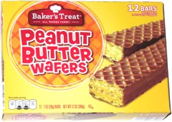 Baker's Treat Peanut Butter Wafers