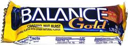 Balance Gold Caramel Nut Blast