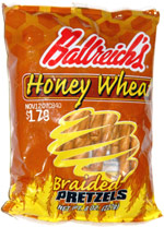 Ballreich's Honey Wheat Braided Pretzels