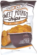 Sweet Potato Chips Sea Salt Crinkle Cut