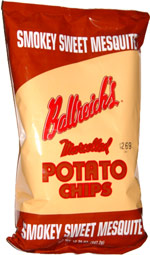 Ballreich's Smokey Sweet Mesquite Marcelled Potato Chips