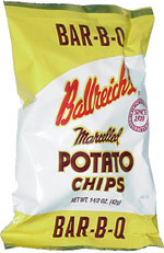 Ballreich's Marcelled Potato Chips Bar-B-Q