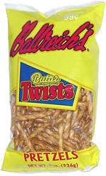 Ballreich's Butter Twists Pretzels