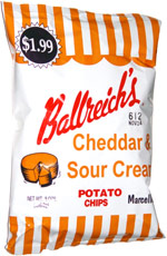 Ballreich's Cheddar & Sour Cream Potato Chips