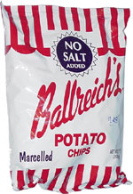 Ballreich's No Salt Potato Chips