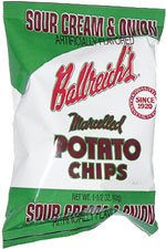 Ballreich's Marcelled Potato Chips Sour Cream & Onion