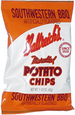 Ballreich's Marcelled Potato Chips Southwestern BBQ