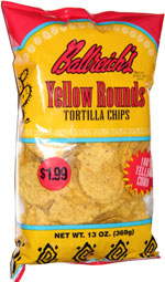Ballreich's Yellow Rounds Tortilla Chips