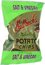 Ballreich's Marcelled Potato Chips Salt & Vinegar