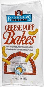 Barbara's Cheese Puff Bakes